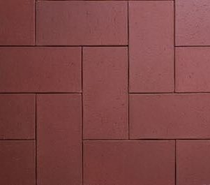 Earth Clay Pavers Firestone Red