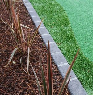 Synthetic Grass Charcoal Haven Brick